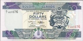 Solomon Inseln / Solomon Islands P.22 50 Dollars (1986) (1)