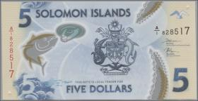 Solomon Inseln / Solomon Islands P.neu 5 Dollars (2019) Polymer (1)