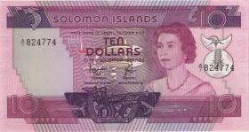 Solomon Inseln / Solomon Islands P.07b 10 Dollars (1977) (1)