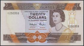 Solomon Inseln / Solomon Islands P.08 20 Dollars (1981) (1)