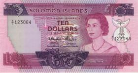 Solomon Inseln / Solomon Islands P.11 10 Dollars (1984) (1)