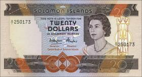 Solomon Inseln / Solomon Islands P.12 20 Dollars (1984) (1)