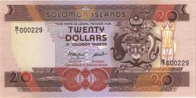 Solomon Inseln / Solomon Islands P.16 20 Dollars (1986) (1) low number
