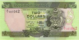 Solomon Inseln / Solomon Islands P.18 2 Dollars (1997) X/1 replacement (1)