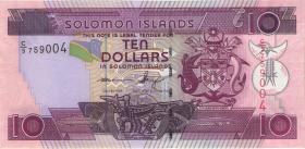 Solomon Inseln / Solomon Islands P.27B 10 Dollars (2011) (1)