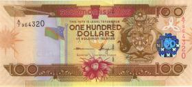Solomon Inseln / Solomon Islands P.30b 100 Dollars (2011) (1)