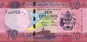 Solomon Inseln / Solomon Islands P.33 10 Dollars (2017) (1)
