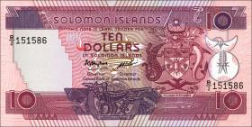 Solomon Inseln / Solomon Islands P.15 10 Dollars (1986) (1)