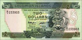 Solomon Inseln / Solomon Islands P.13 2 Dollars (1986) (1)