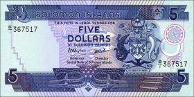 Solomon Inseln / Solomon Islands P.14 5 Dollars (1986) (1)
