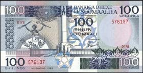 Somalia P.35d 100 Shillings 1989 (1)