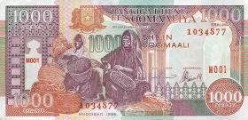 Somalia P.37b 1000 Shillings 1996 (1)