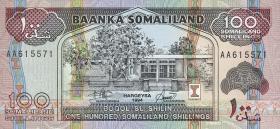 Somaliland P.05a 100 Shillings 1994 (1)