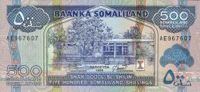 Somaliland P.06a 500 Shillings 1994 (1)