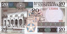 Somalia P.33a 20 Shillings 1983 (1)