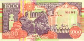 Somalia P.R10 1000 Shillings 1990 (1)