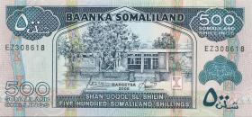 Somaliland P.06f 500 Shillings 2006 (1)