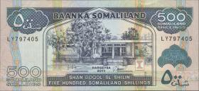 Somaliland P.06h 500 Shillings 2011 (1)