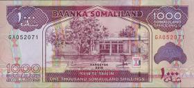 Somaliland P.20b 1000 Shillings 2015 (1)