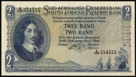 Südafrika / South Africa P.105b 2 Rand (1962-65) (1)