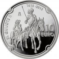 Spanien 10 Euro 2015 Don Quijote II