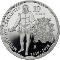 Spanien 10 Euro 2016 Cervantes