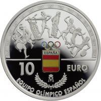 Spanien 10 Euro 2016 Olympische Spiele Rio
