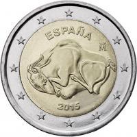 Spanien 2 Euro 2015 Höhle von Altamira