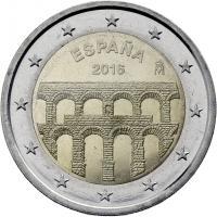 Spanien 2 Euro 2016 Aquädukt von Segovia