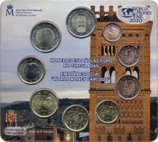 Spanien Euro-KMS 2020 World Money Fair Berlin 2020stg