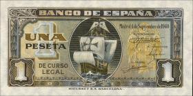 Spanien / Spain P.122 1 Peseta 1940 (1)