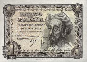 Spanien / Spain P.139 1 Peseta 1951 (1)