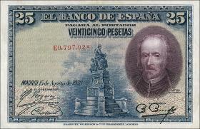 Spanien / Spain P.074b 25 Pesetas 1928 (1)