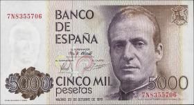 Spanien / Spain P.160 5000 Pesetas 1979 (1)