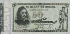 Spanien / Spain P.050 50 Pesetas 1899 (1)