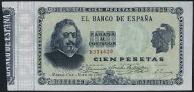 Spanien / Spain P.051 100 Pesetas 1899 (2+)