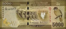 Sri Lanka P.128d 5000 Rupien 2016 (1)
