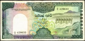 Sri Lanka P.090 1000 Rupien 1981 (3)