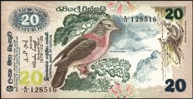 Sri Lanka P.086 20 Rupien 1979 (2)