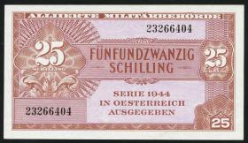 Österreich / Austria P.108a 25 Schilling 1944 (1)
