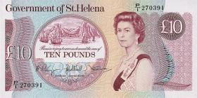 St. Helena / Saint Helena P.08b 10 Pounds  (1985) (1)