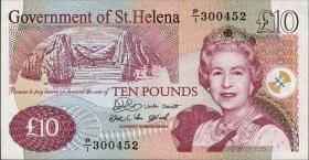 St. Helena / Saint Helena P.12a 10 Pounds  2004 (1)
