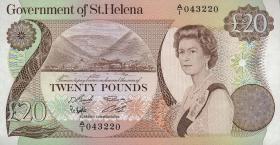 St. Helena / Saint Helena P.10 20 Pounds (1986) (1)