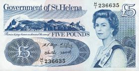 St. Helena / Saint Helena P.11 5 Pounds  (1998) (1)