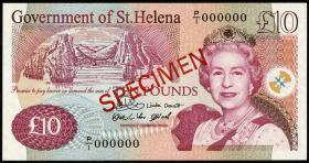 St. Helena / Saint Helena P.12s 10 Pounds  2004 (1) Specimen