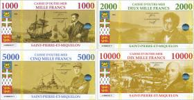 St. Pierre & Miquelon 1000-10000 Francs 2018 (1)