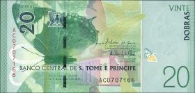 St. Thomas / Saint Thomas and Prince P.neu 20 Dobras 2016 Polymer (1)