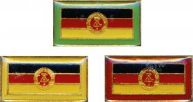 Stasi-Observationsabzeichen - DDR-Flaggenausgabe (3 Stück)