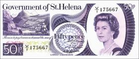 St. Helena / Saint Helena P.05 50 Pence (1979) (1)