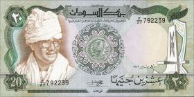 Sudan P.28 20 Pounds 1983 (1)